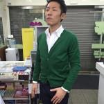 Keisuke Okunoyaのカーディガンが届きました〜
